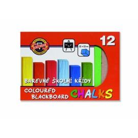 Set creta colorata - 12 bucati Koh I Noor