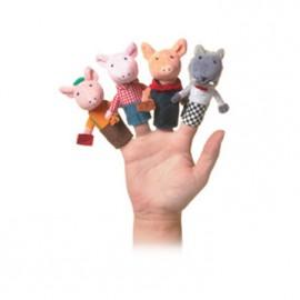 Papusi de deget - Cei trei purcelusi