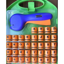 Perforator Decorativ In Caseta Alfabet Si Cifre 36 Buc - Fiskars imagine
