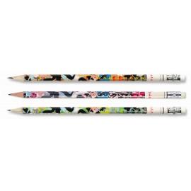 Creion grafit HB cu guma, Hawaii - Kos I NOOR