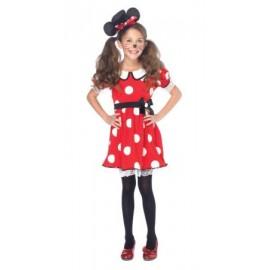 Costum Minnie pentru fetite