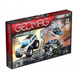 Geomag Wheels 68 piese