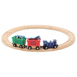 Trenulete De Lemn