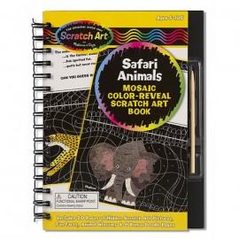 Set Desen Prin Razuire - Animale Safari - Melissa & Doug imagine