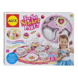 Set de ceai din portelan de decorat - Alex Toys