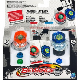 Beyblade metal fury - Titirez Ambush Attack