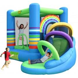 Happy Hop - Spatiu de joaca gonflabil Curcubeu