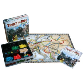 Joc Ticket to Ride Europa