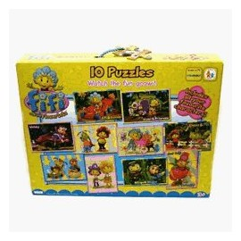 Fifi si Floricelele - Puzzle 10 in 1