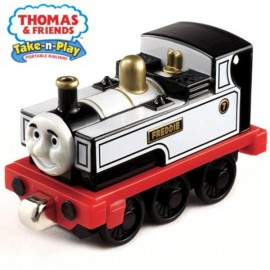 Thomas&Friends Locomotiva mica Freddie the Fearless - Fisher Price