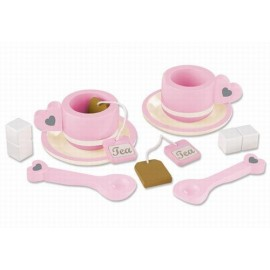 Set de ceai roz