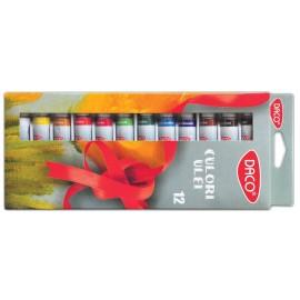 Set 12 culori ulei