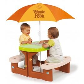 Smoby - Masuta picnic cu umbrela