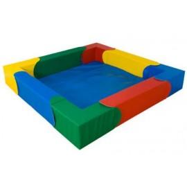 Soft Play - Piscina pentru bile Curcubeu