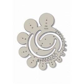 Sablon cercuri cu Φ 1 ÷ 40mm