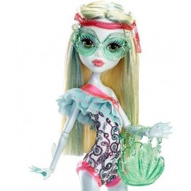 Papusa Lagoona Blue - Monster High in costum de baie