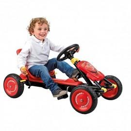 Kart cu pedale Cars II - Smoby