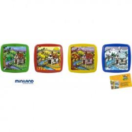 Set de 4 puzzle Anotimpurile anului - Miniland