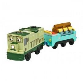 Dunbar si Vagon platforma Chuggington Motorizat