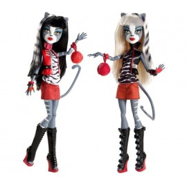 Monster High Sister Purrsephone si Meowlody