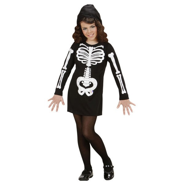 Costum Glam Skeleton