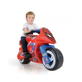 Motocicleta Wind Spiderman Sense 6V (INJ6460)