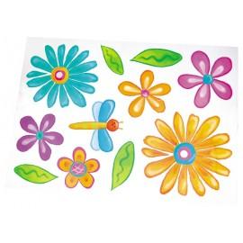 Autocolante mari – Flori
