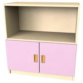 Usa mica pentru dulap - roz