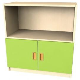 Usa mica pentru dulap - Verde