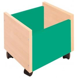 Cutie depozitare cu roti - Verde