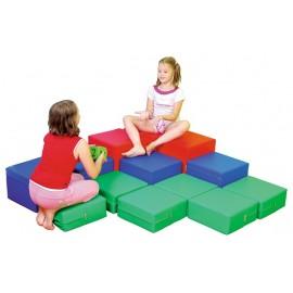 Set de cuburi spuma pentru camera de zi
