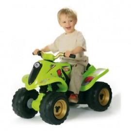ATV verde cu acumulator - Smoby