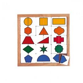 Puzzle Pentru Gradinita Forme De Sortare - Educo imagine