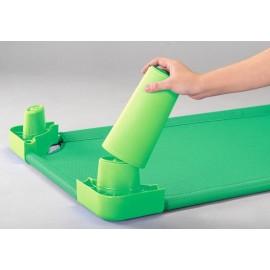 Picioare pentru inaltare pat - Verde