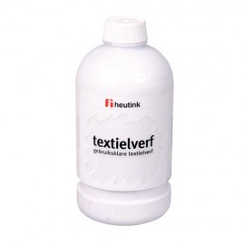 Vopsea pentru tesaturi 500 ml Alb - Heutink