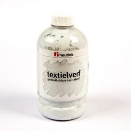 Vopsea pentru tesaturi 500 ml Argintiu - Heutink
