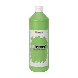 Gouache sticla 1L Verde deschis - Heutink