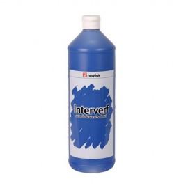 Gouache sticla 1L Albastru inchis - Heutink