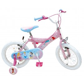 Bicicleta Copii Princess 16 Inch Cu Frana Pe Ambele Roti - Stamp