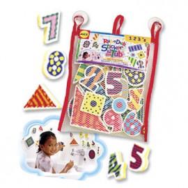 Alex Toys - Stickere pentru baie Numere si forme