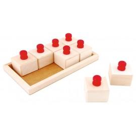 Cutii din lemn cu sunete
