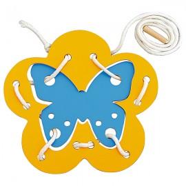 Fluture cu snururi