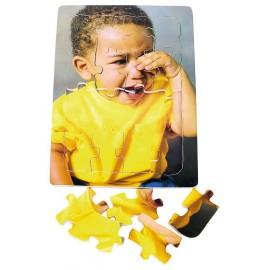 Puzzle emotii - suparat