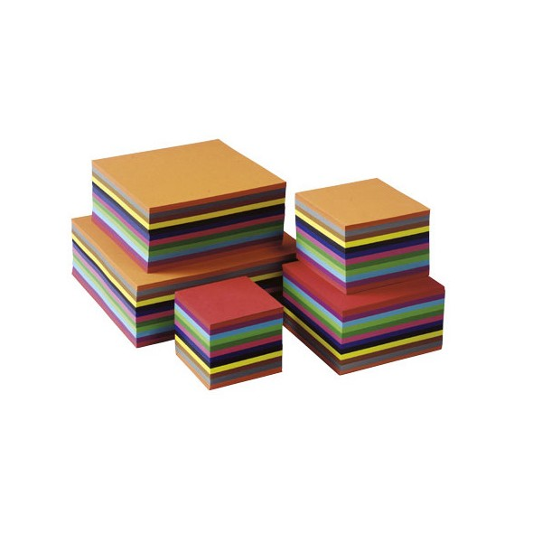 Set 480 coli pliabile colorate 16 x 16 cm - Heutink