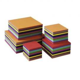 Set 480 coli pliabile colorate 20 x 20 cm - Heutink