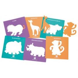 Sabloane- animalele junglei