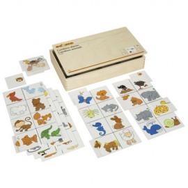 Joc educativ pentru gradinita Combino animals - Educo