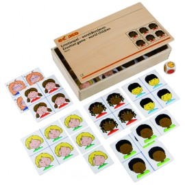 Joc educativ pentru gradinita Emotiile - Copii lumii - Educo