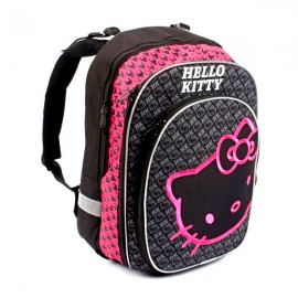 Ghiozdan anatomic - Hello Kitty Black