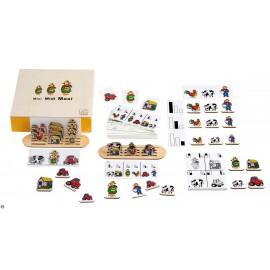 Joc educativ Dimensiunile - Mini Midi Maxi - Toys for Life